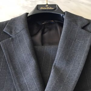 Brooks Brothers Suit- Charcoal